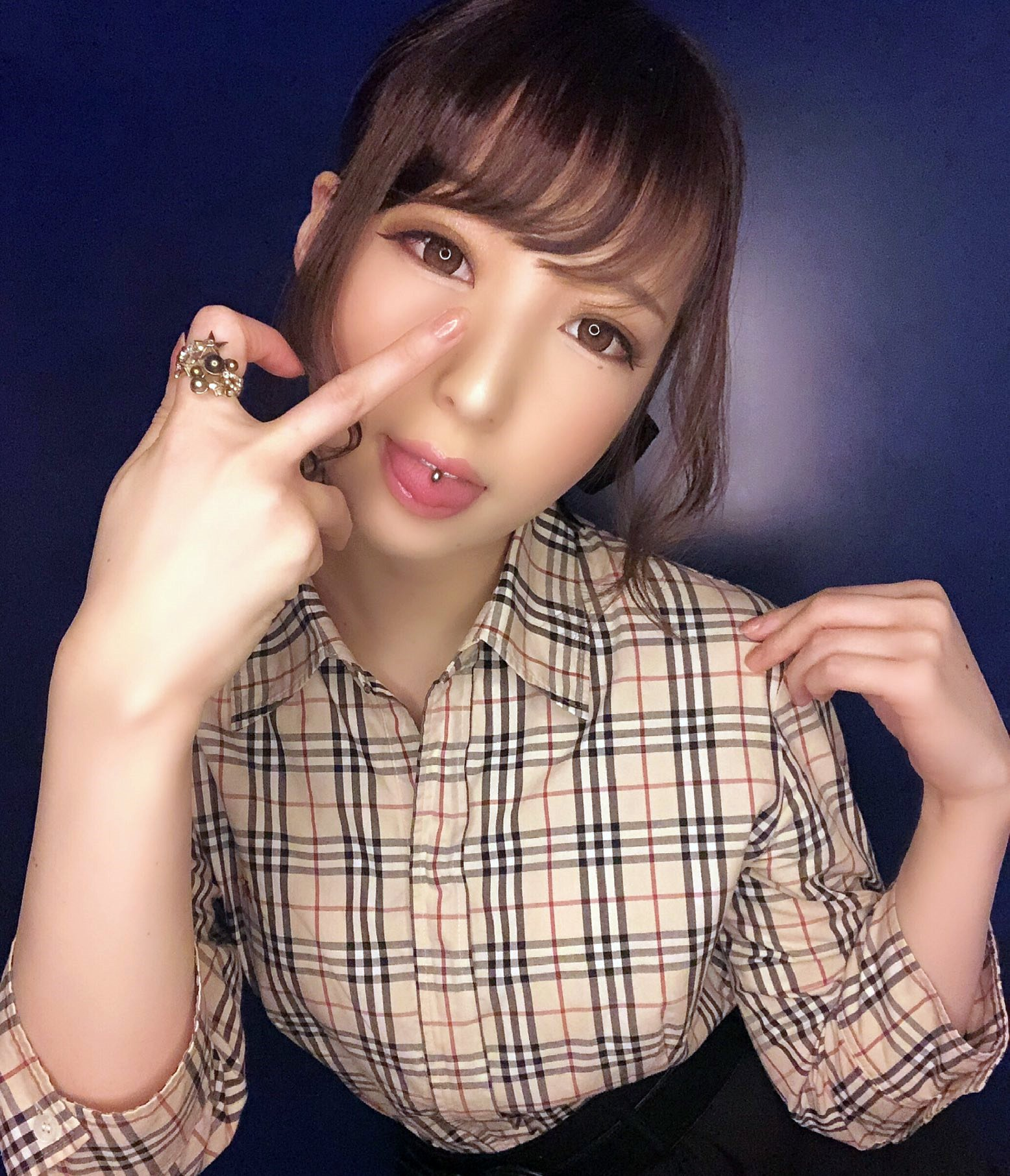 福田もかのぽってり舌 (4)