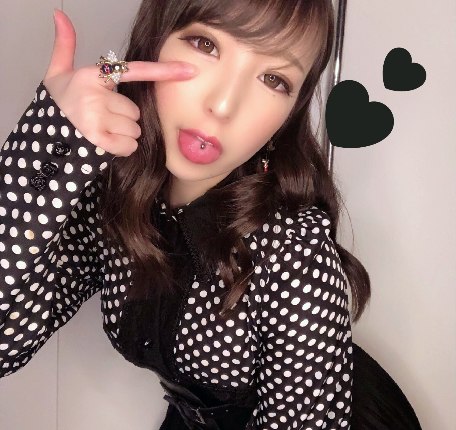 福田もかのぽってり舌 (6)