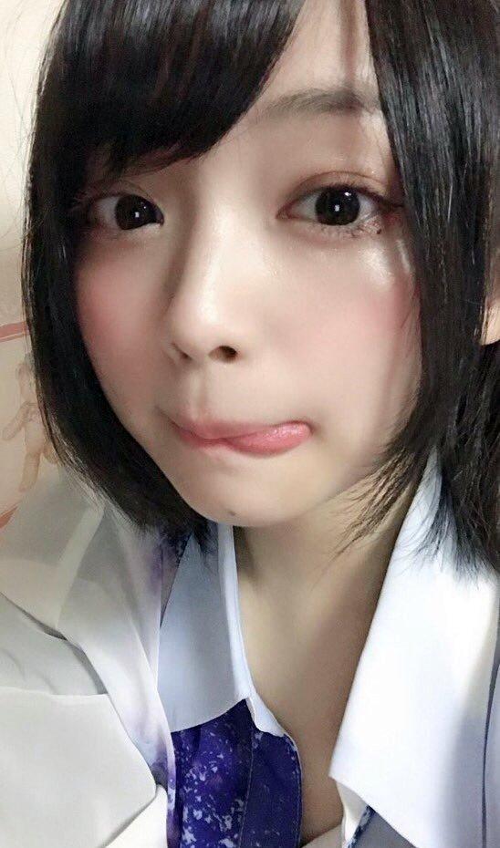 上田操のペロ舌出し (1)