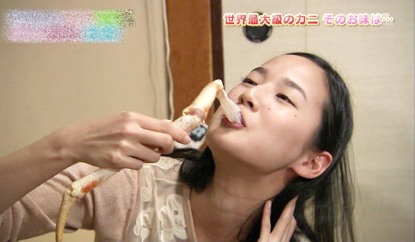 高嶋香帆の擬似フェラ (5)