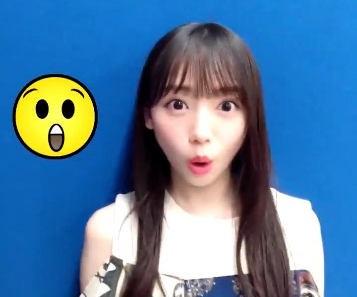 齊藤京子のフェラ顔