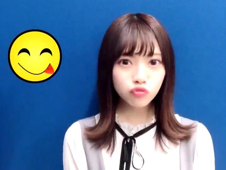 宮田愛萌のキス顔