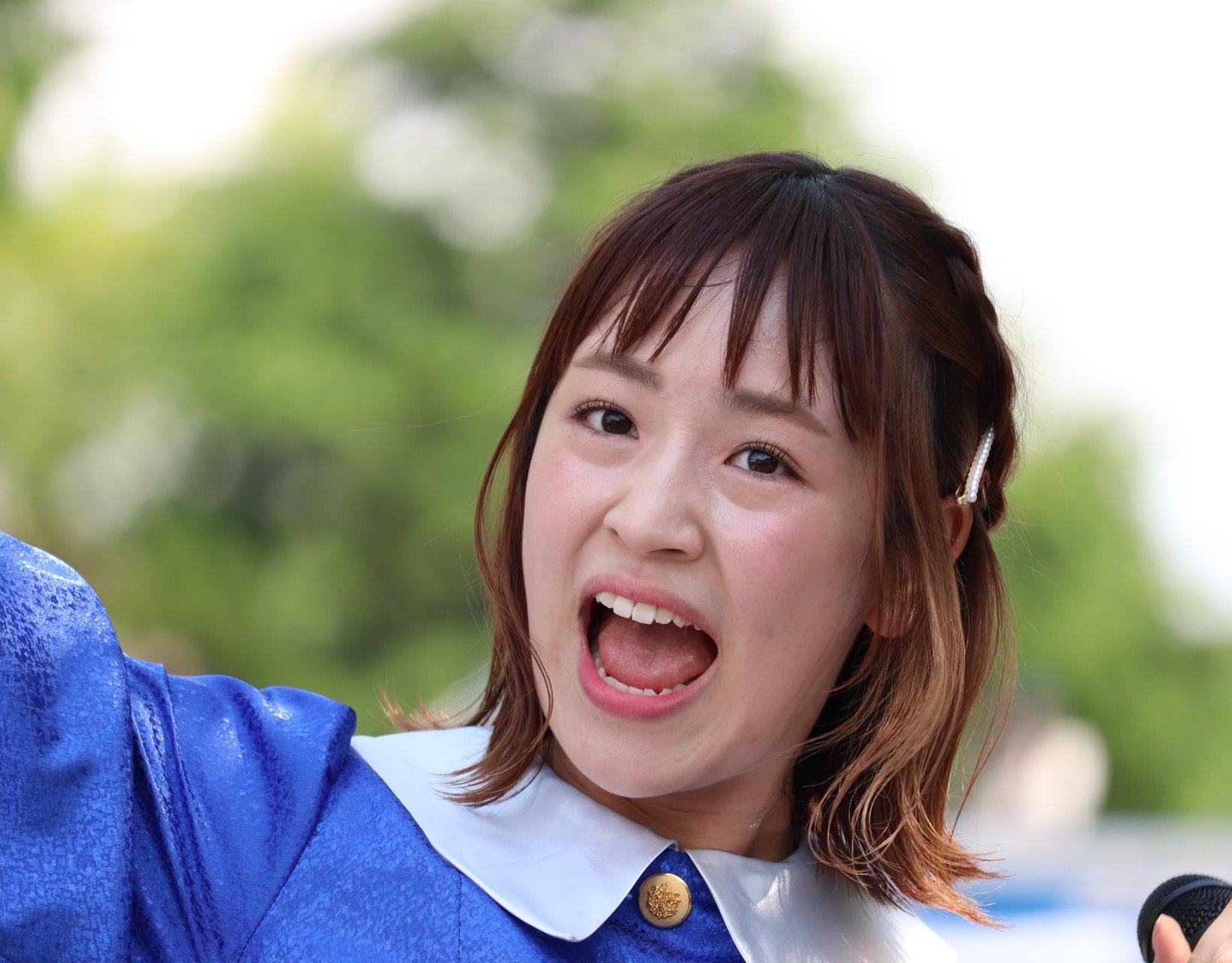 田崎礼奈の開口舌見せ (21)