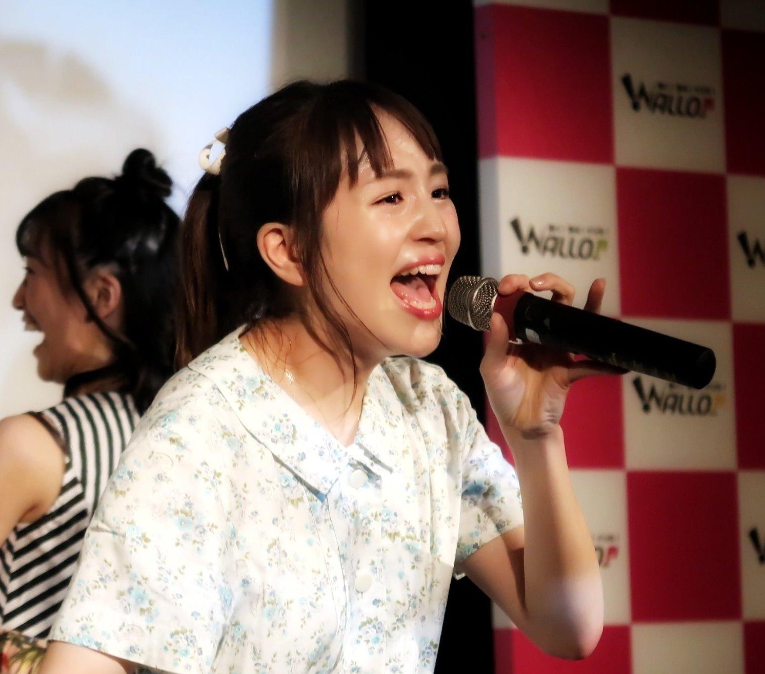 田崎礼奈の開口舌見せ (25)