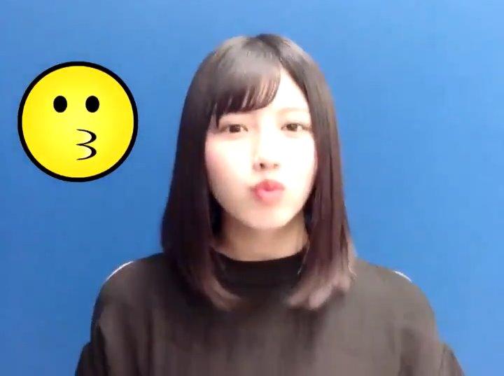 渡邉美穂のキス顔