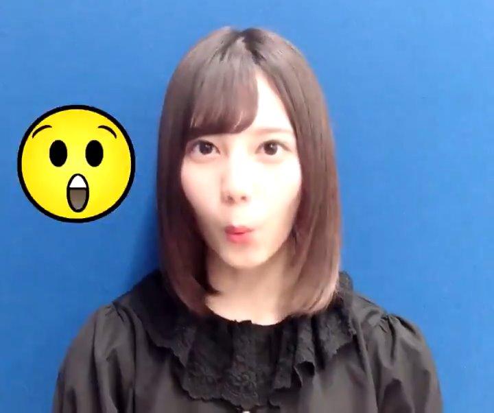 小坂菜緒のフェラ顔