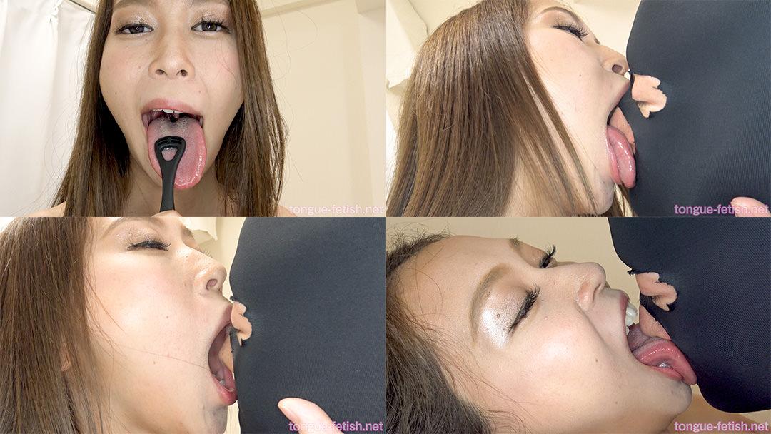 河北麻衣のエロ長い舌・唾・口の臭い堪能コース2