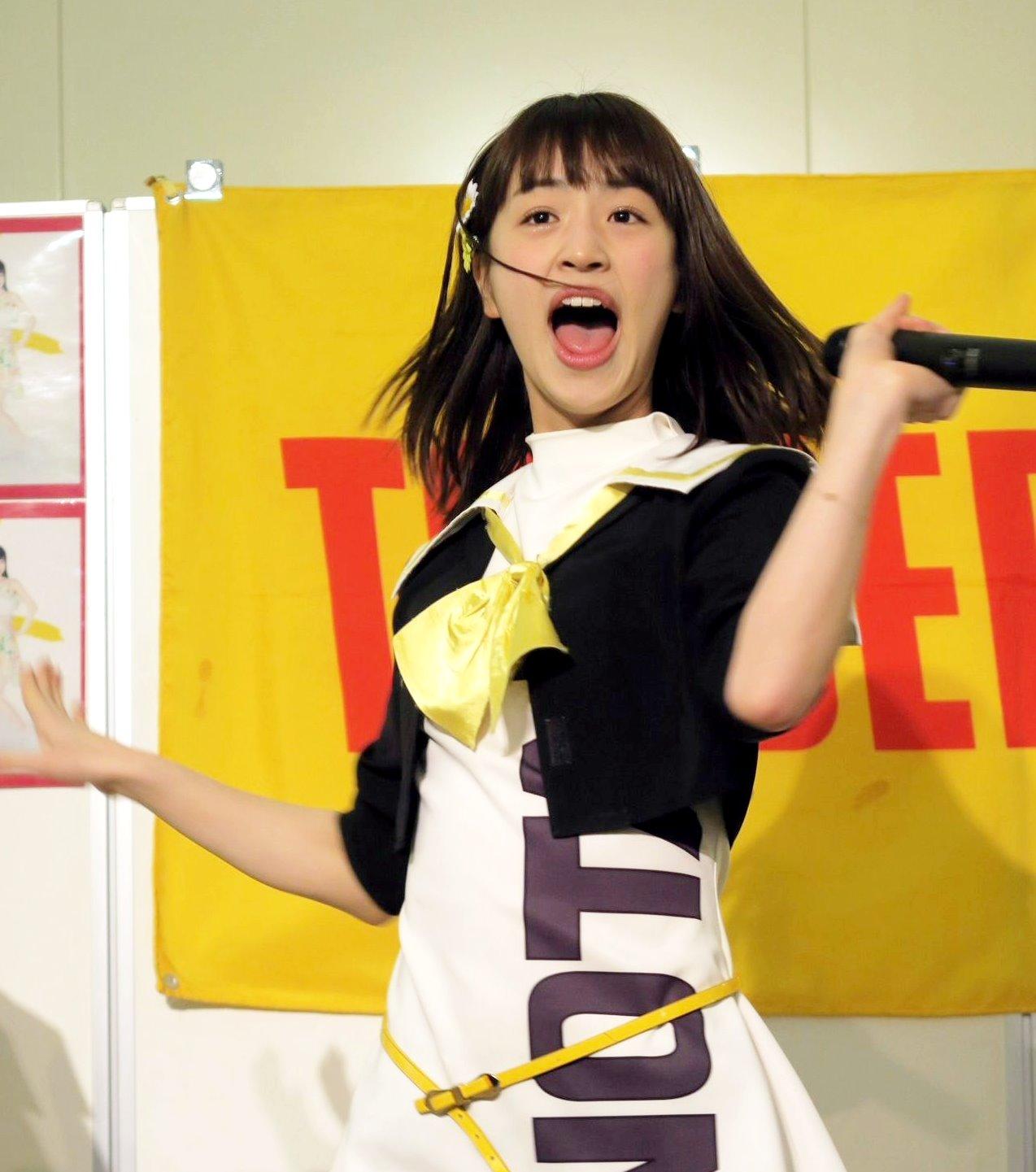 田崎礼奈の開口舌見せ (7)