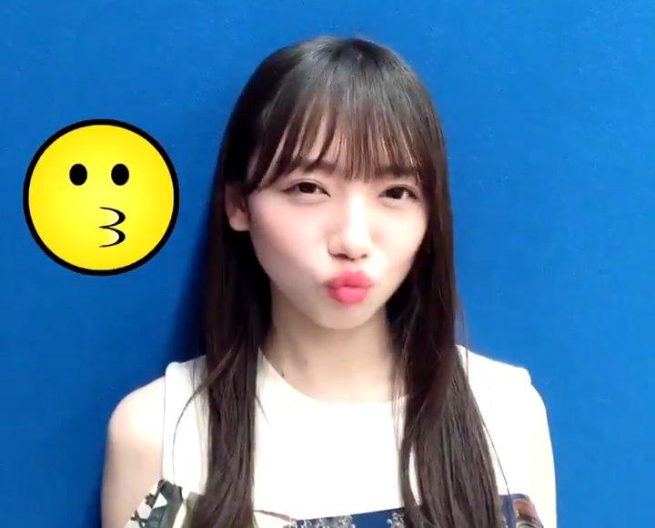 齊藤京子のキス顔