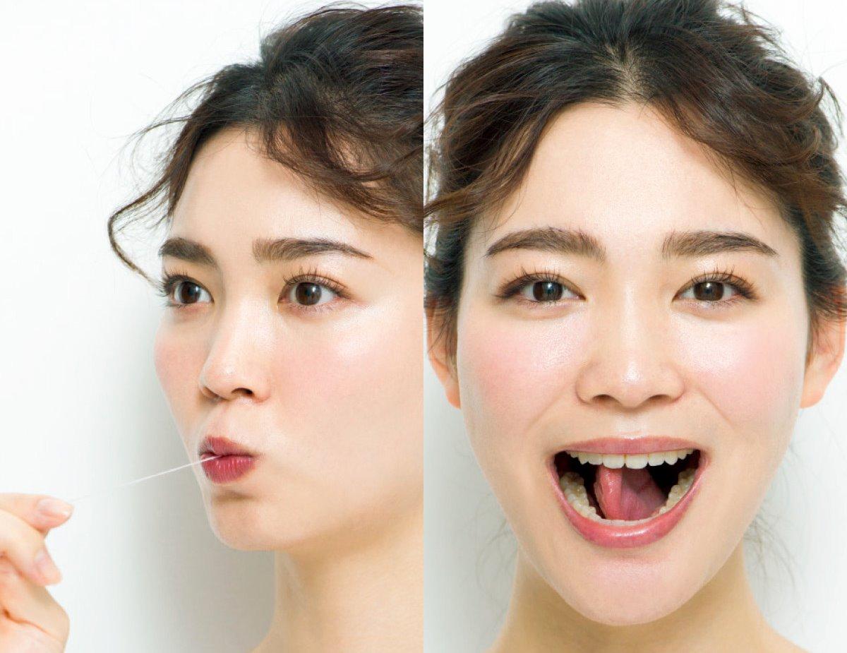 福吉真璃奈の顔ヨガ舌 (2)