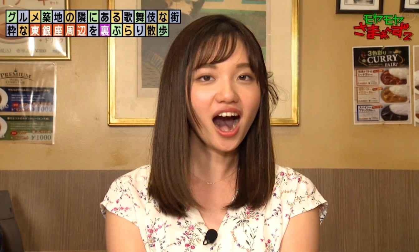 田中瞳の開口舌見せ