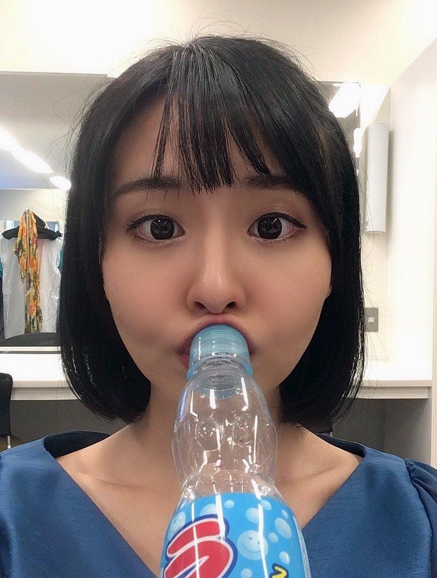 望木聡子のフェラ顔