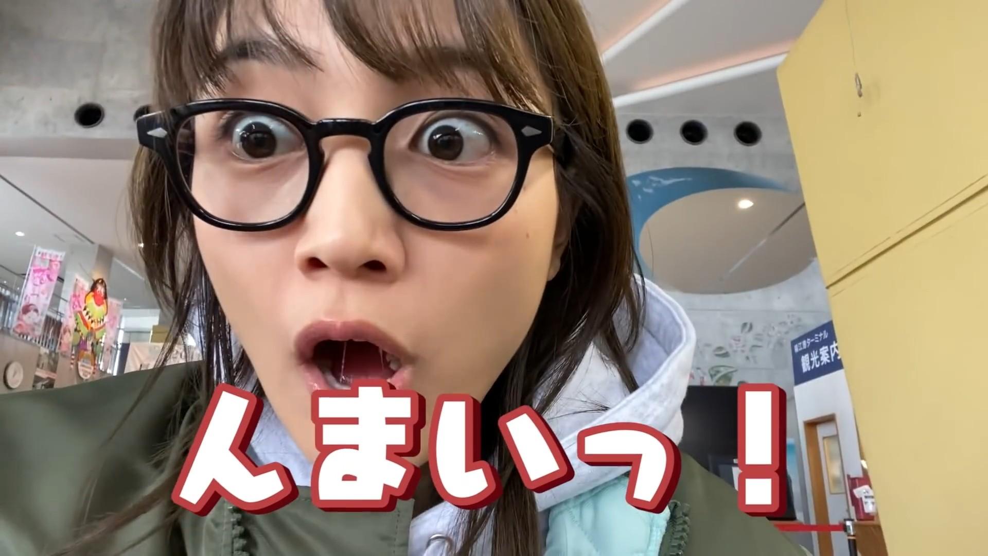 川口春奈の食事舌 (2)