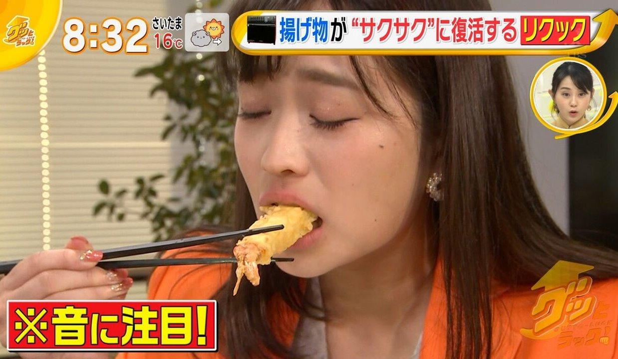 篠原梨菜の疑似フェラ (6)