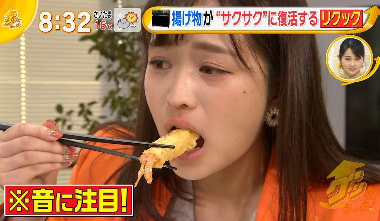 篠原梨菜の疑似フェラ (5)