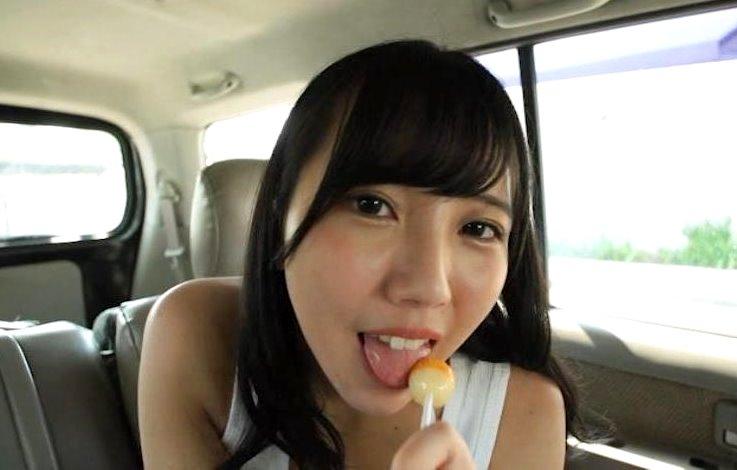 小栗まりの舐め舌1 (1)