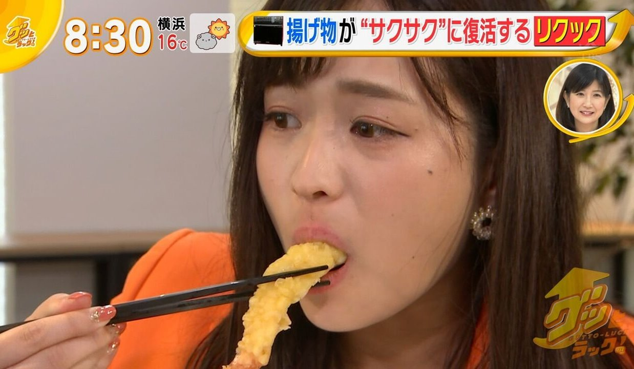 篠原梨菜の疑似フェラ (4)