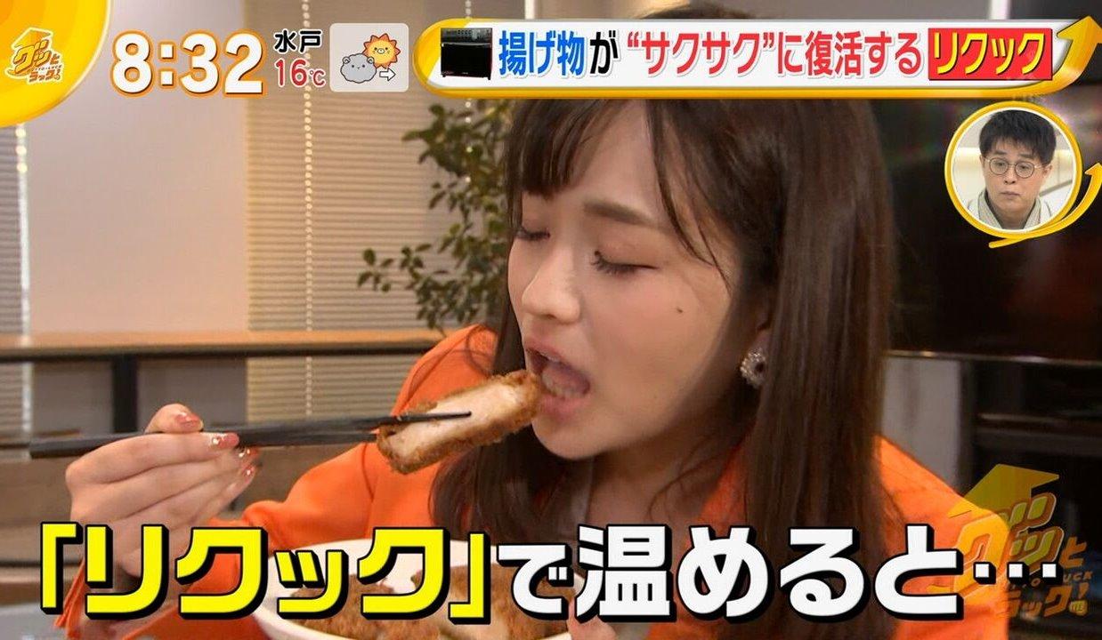 篠原梨菜の疑似フェラ (7)