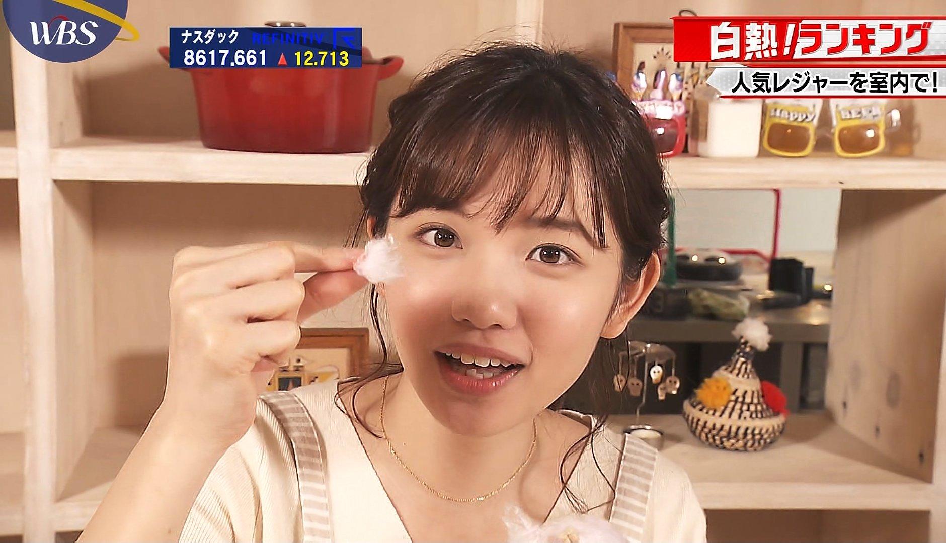 田中瞳の唾糸疑似フェラ (1)