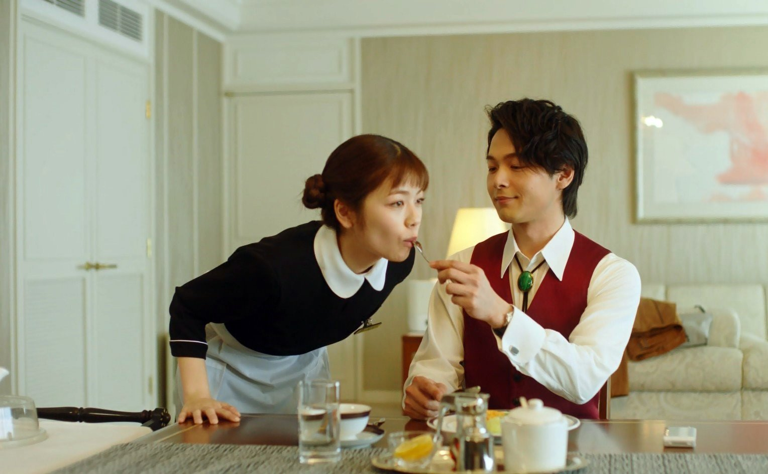 小芝風花の食事顔 (3)