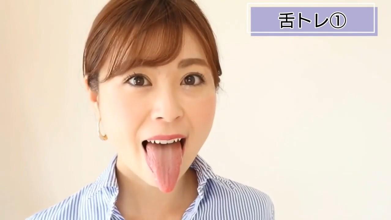仲里あやねの舌トレーニングまとめ3 (7)