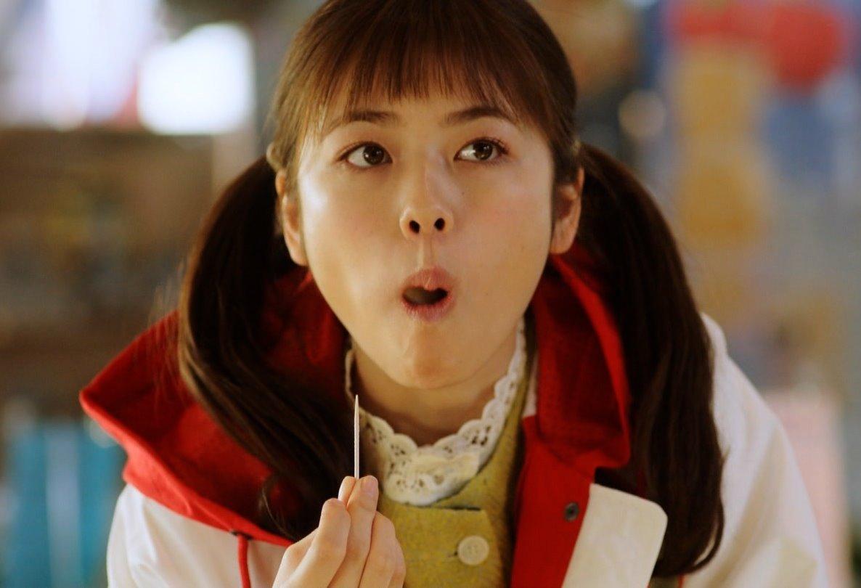小芝風花の食事顔 (1)