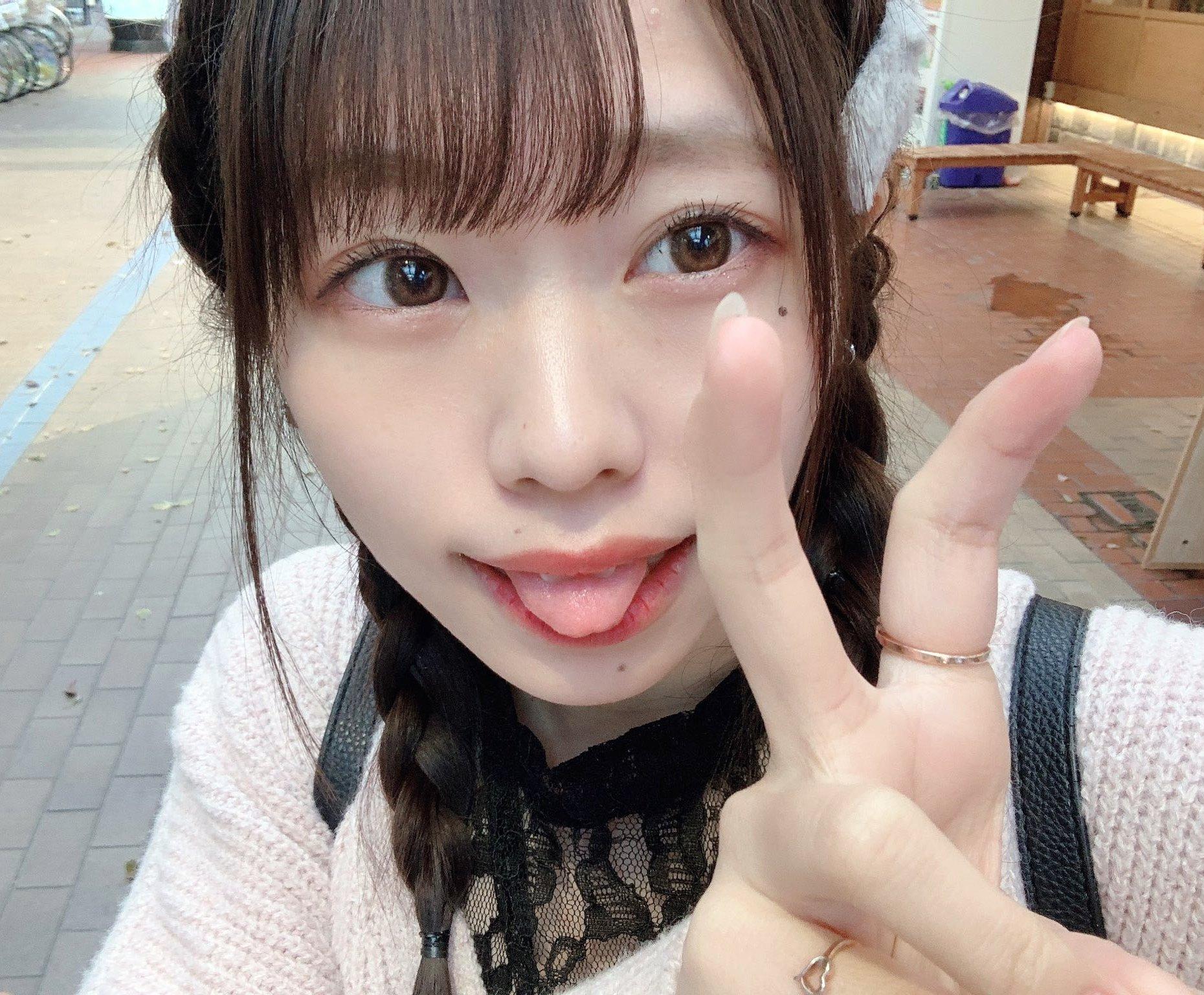 双葉凛乃のペロ舌出し (40)