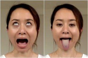 美人ヨガ講師の白濁汚舌