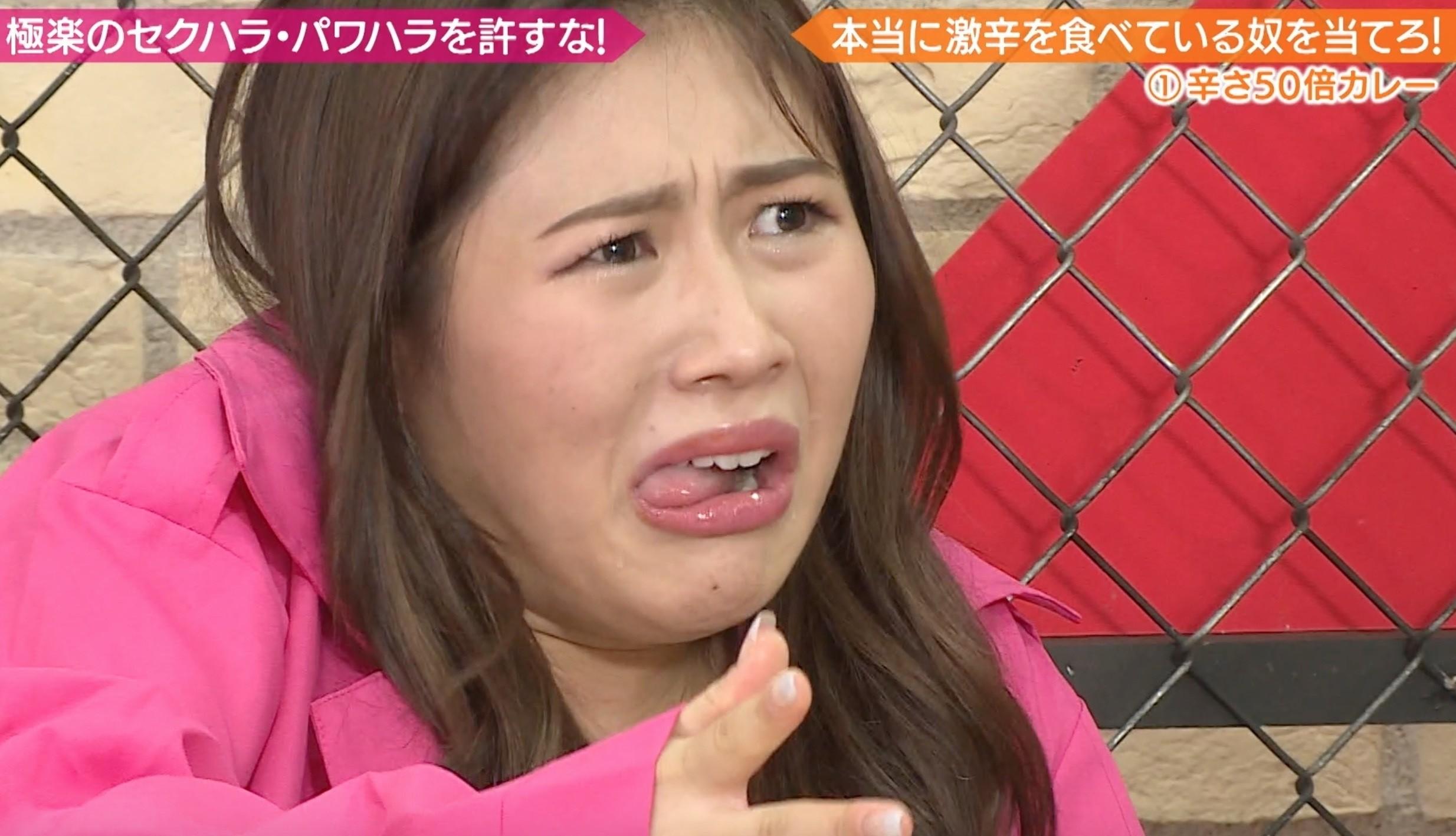 西野未姫の舌出し (2)