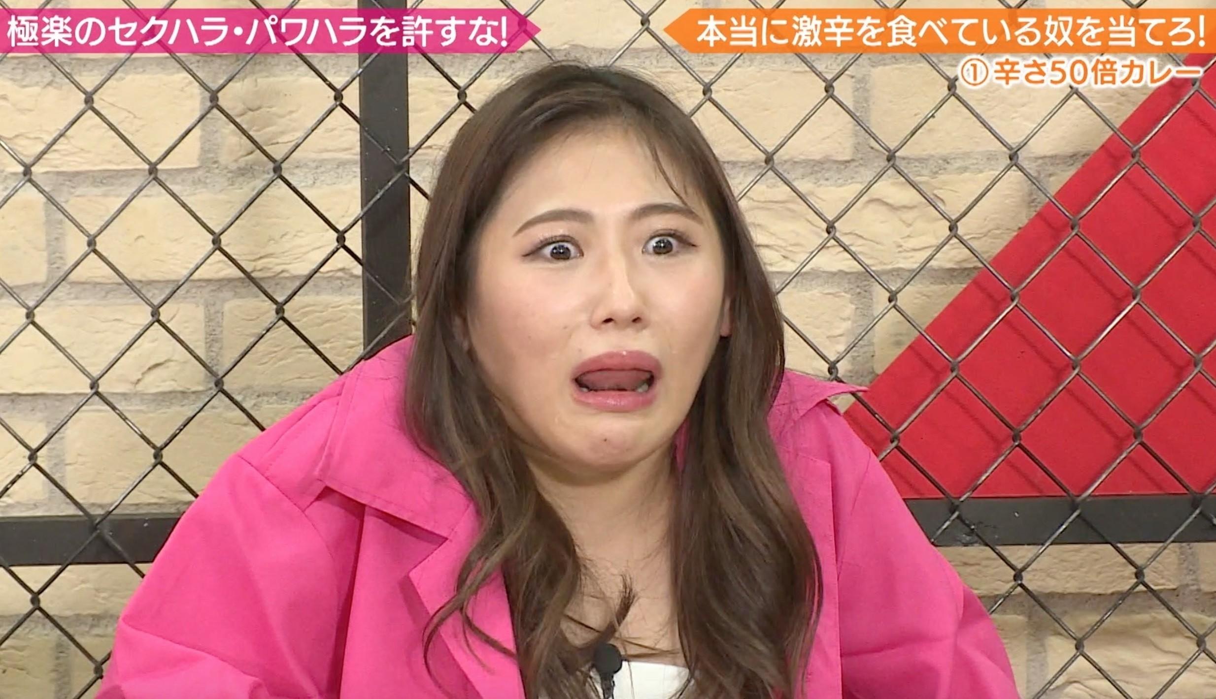 西野未姫の舌出し (1)