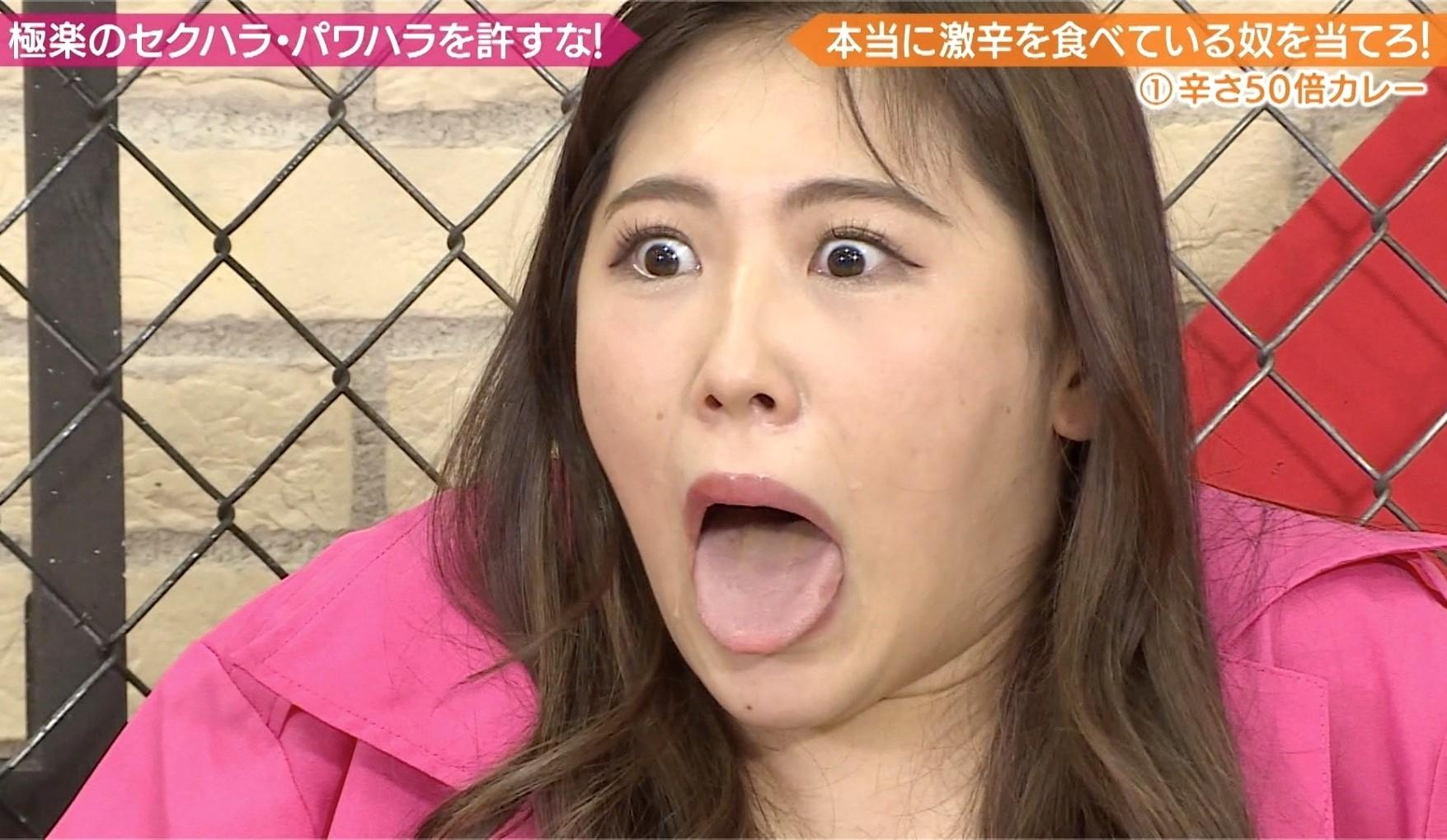 西野未姫の舌出し (3)