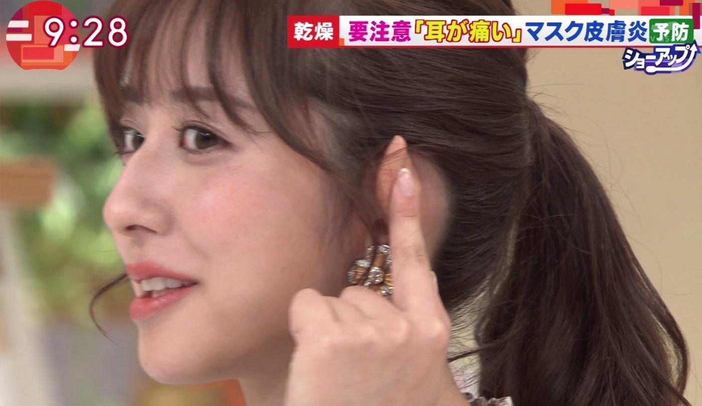 斎藤ちはるの顔面アップ&唾糸 (4)