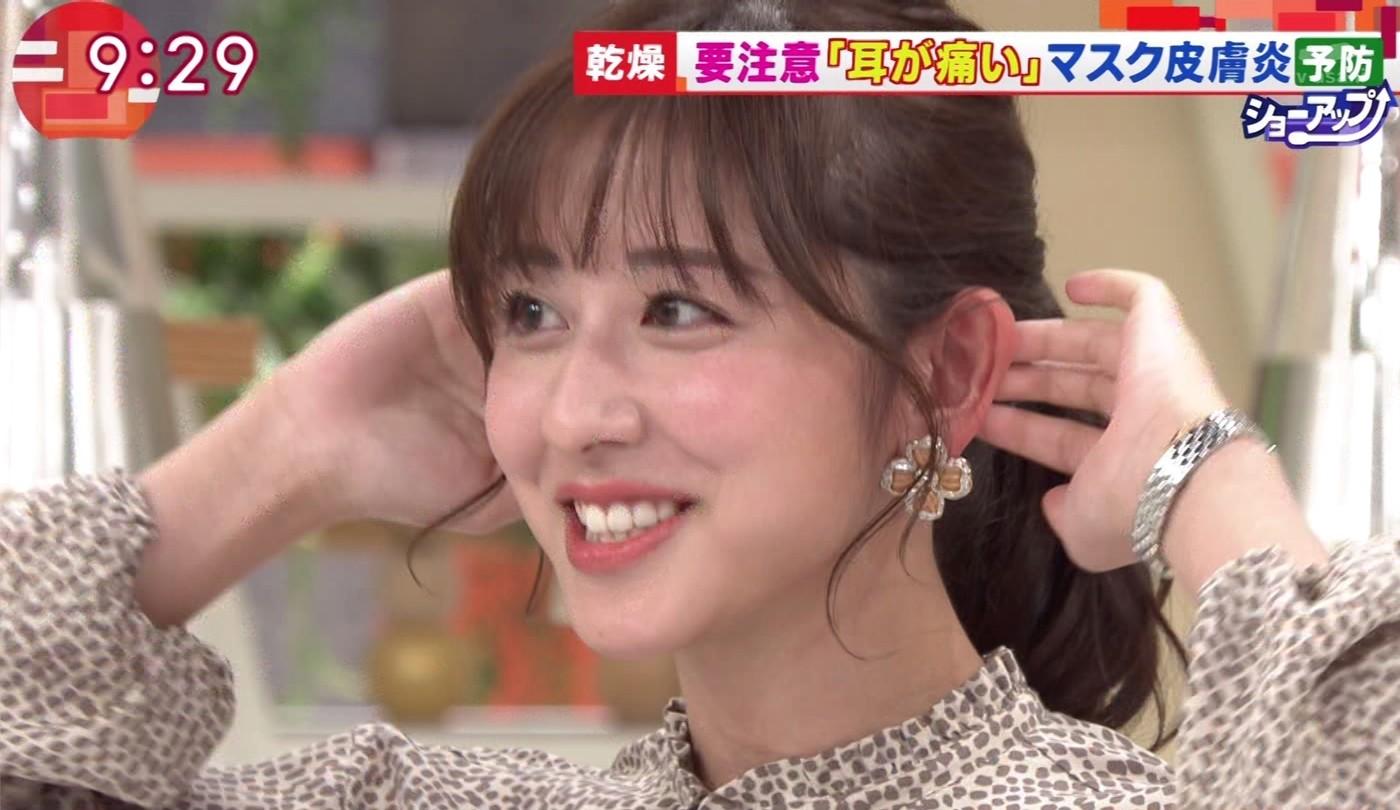 斎藤ちはるの顔面アップ&唾糸 (5)