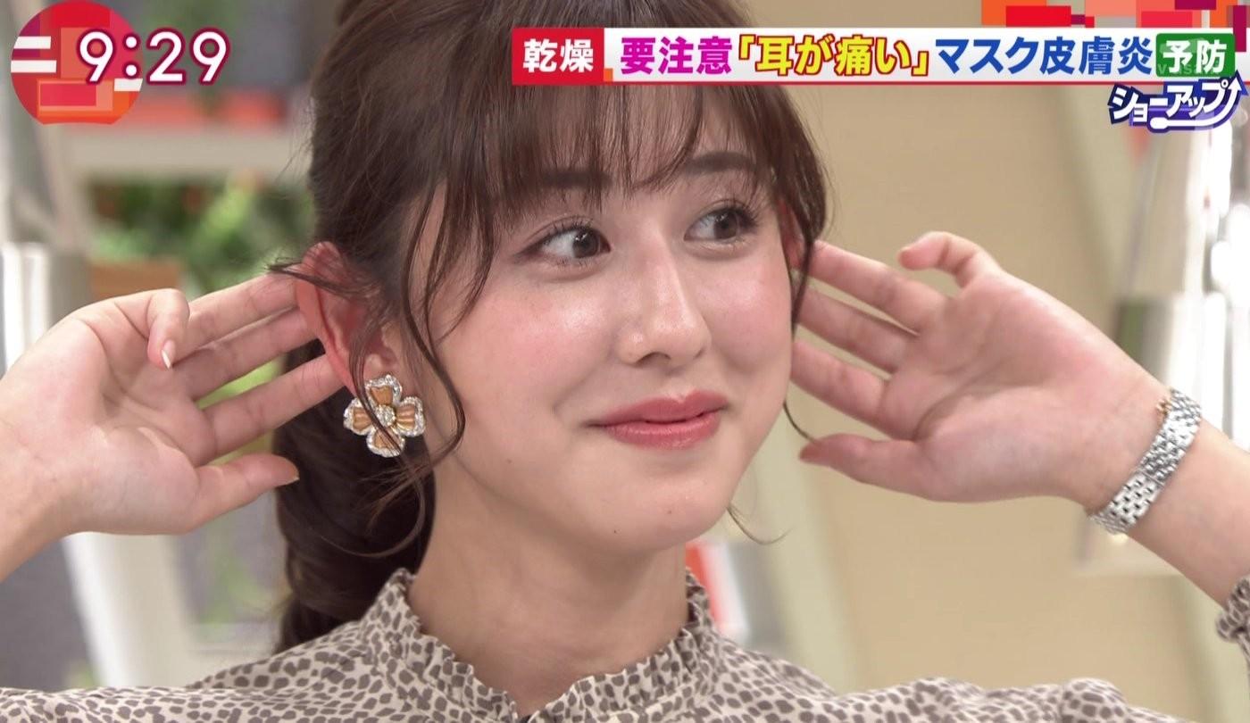 斎藤ちはるの顔面アップ&唾糸 (6)