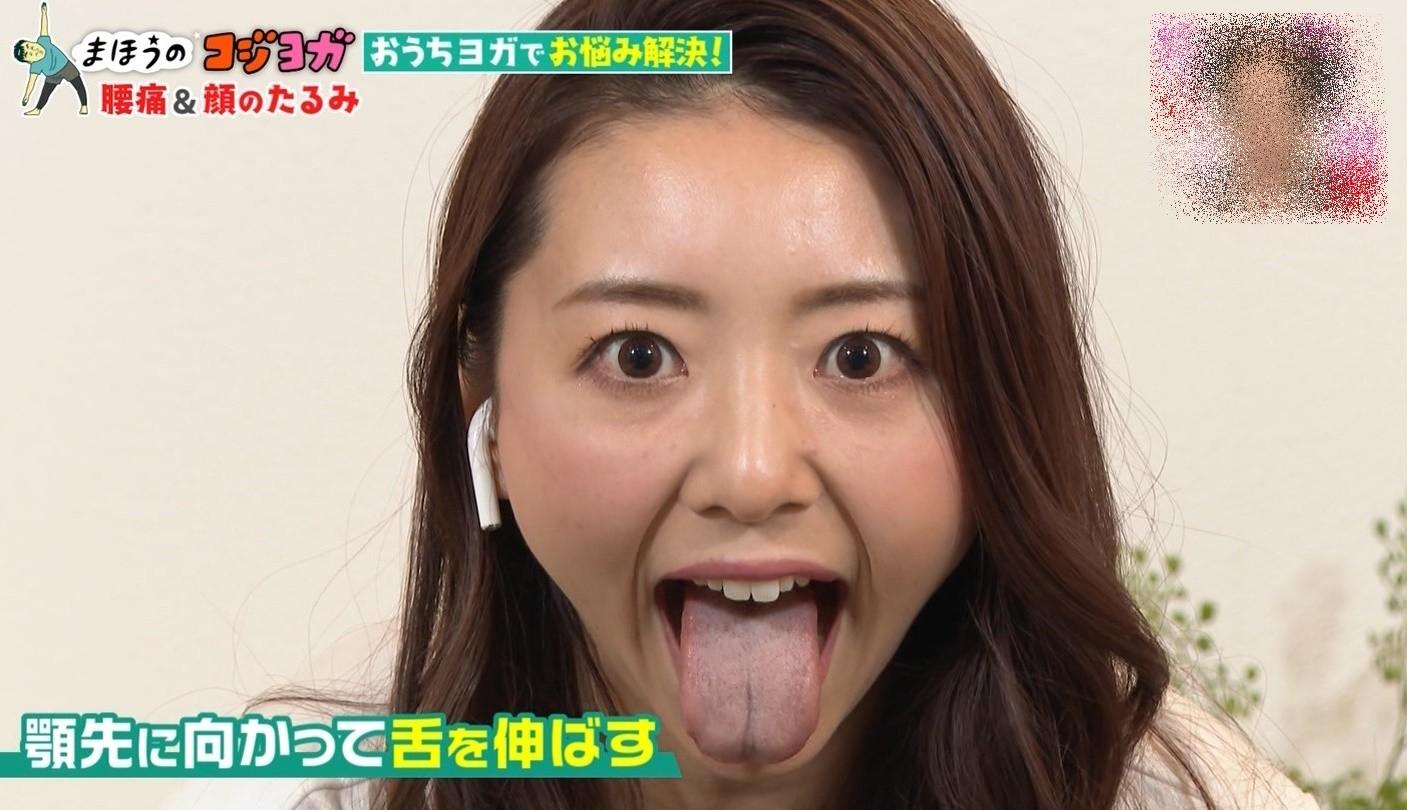 竹脇まりなの舌出し (2)