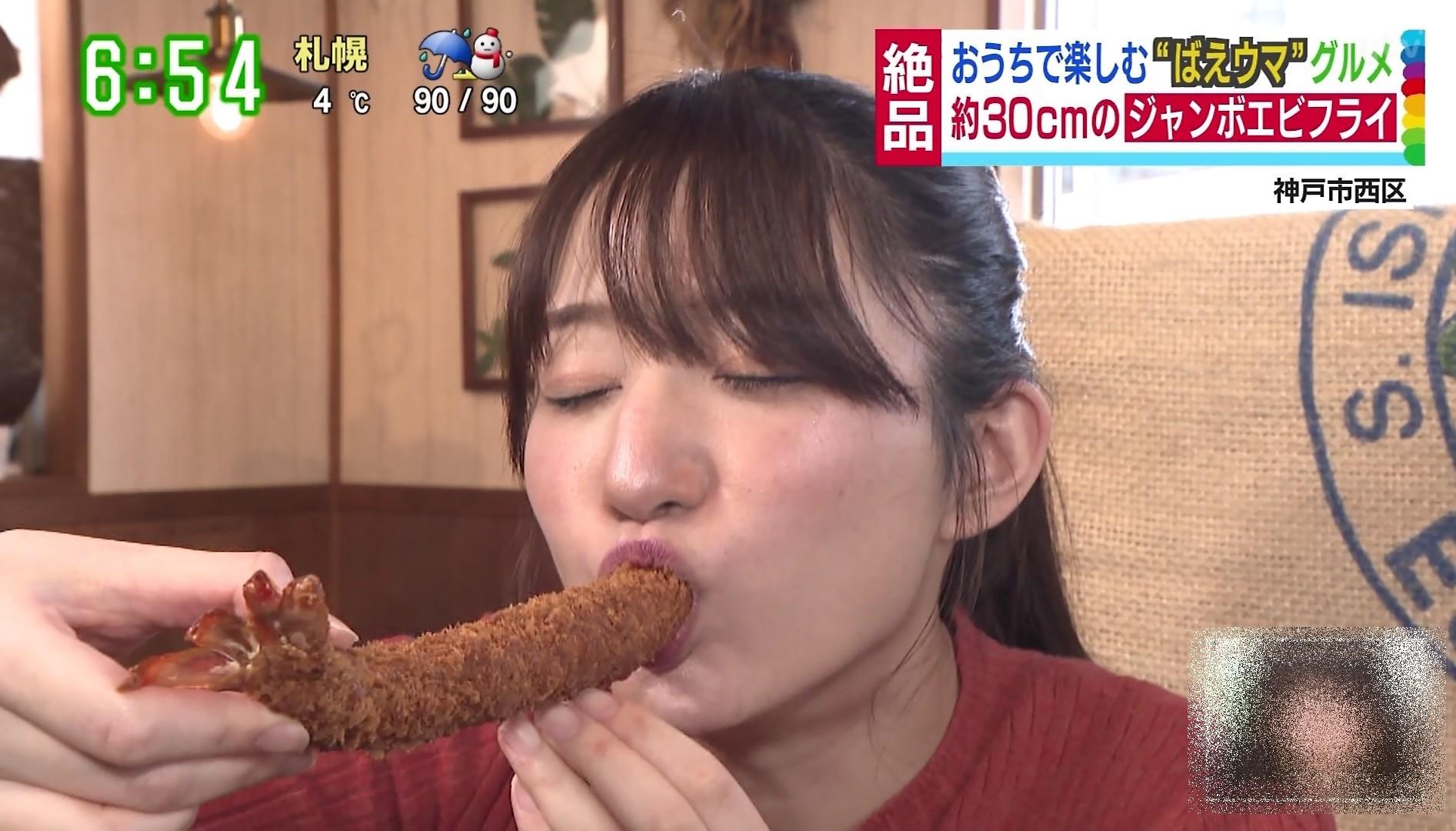 池田愛恵里の疑似フェラ (19)