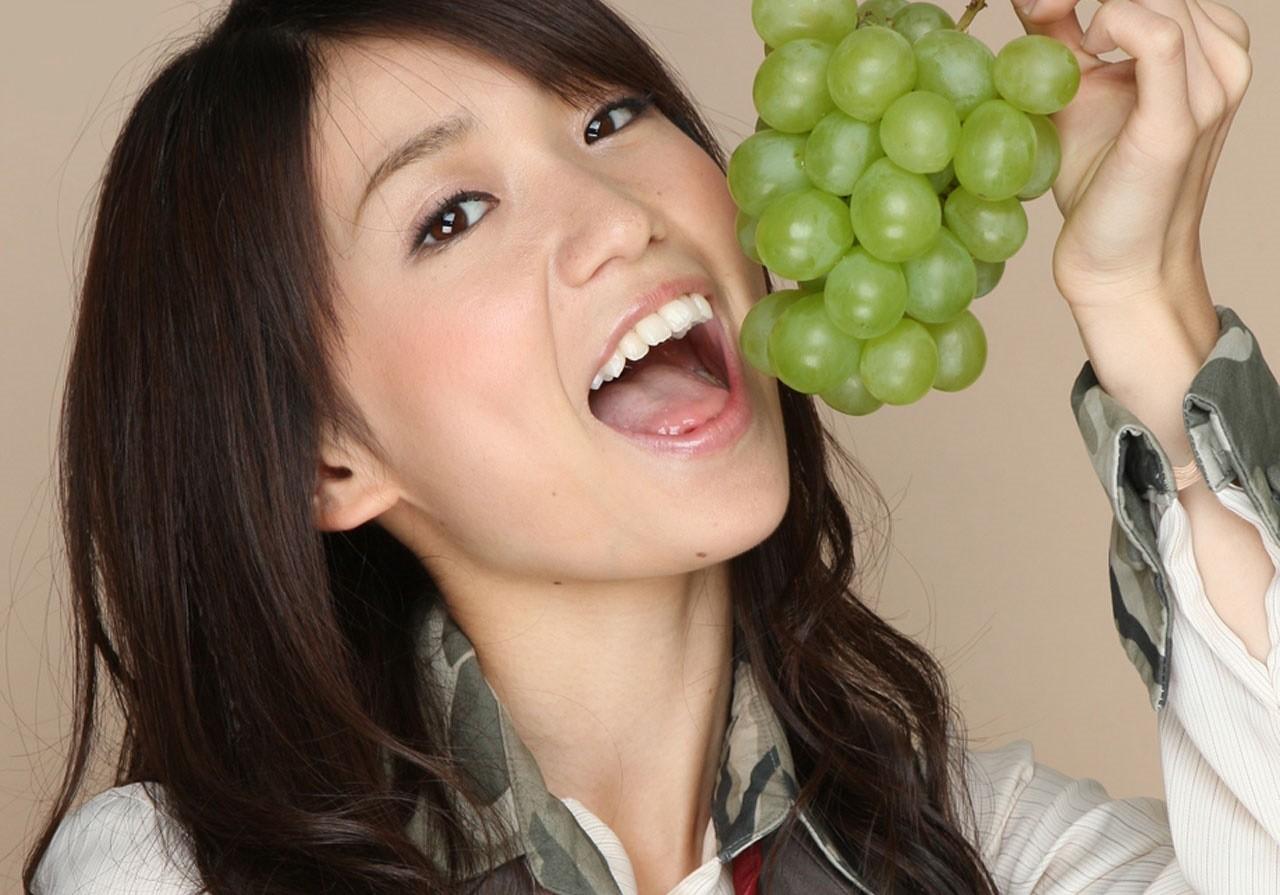 大島優子の開口舌見せ (2)