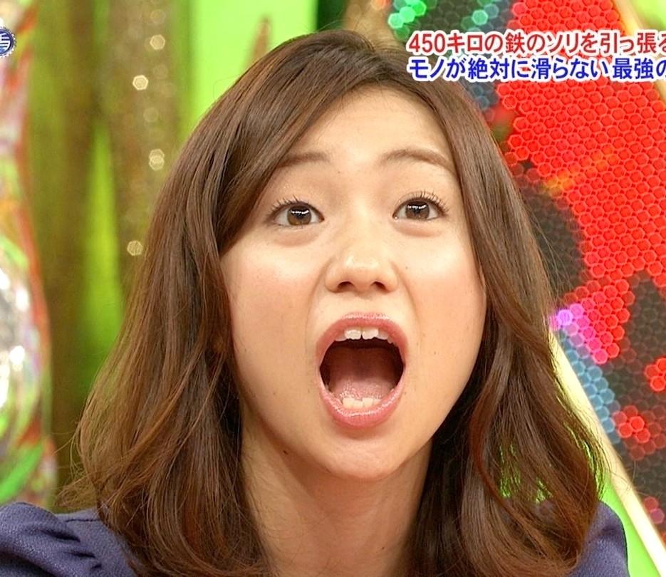 大島優子の開口舌見せ (5)