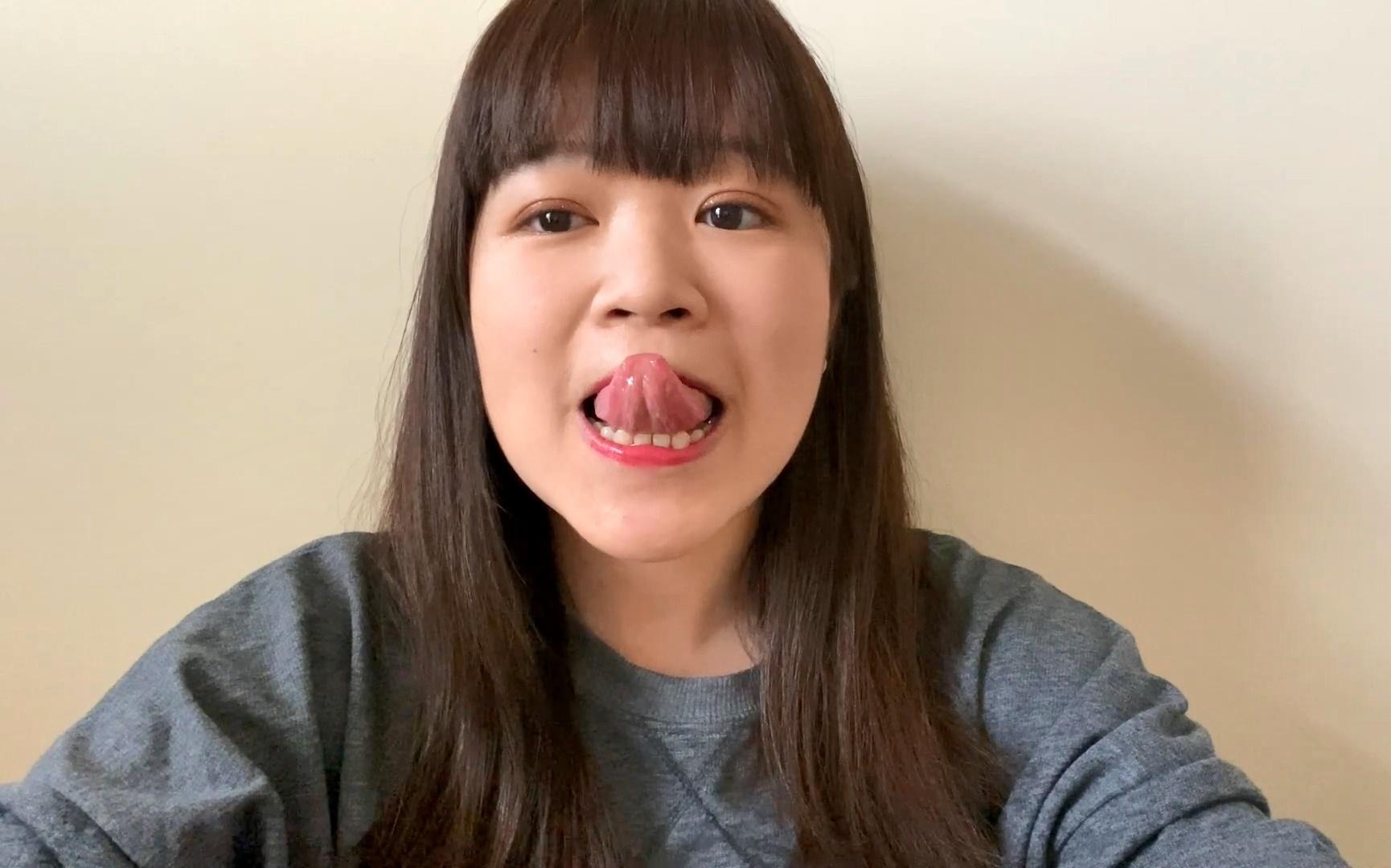 犬山みんみんの舌出し動画 (2)