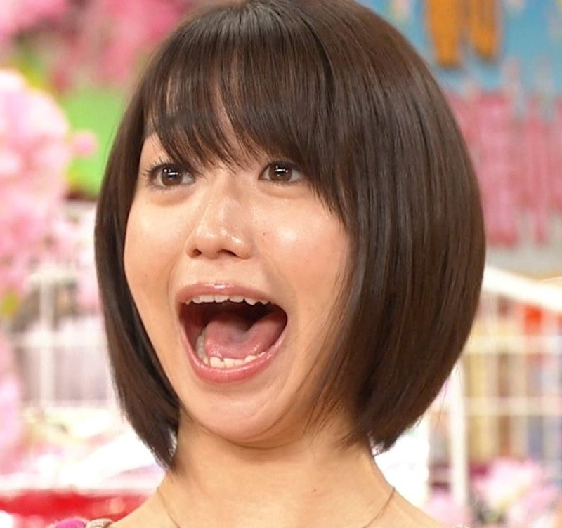 大島優子の開口舌見せ (3)