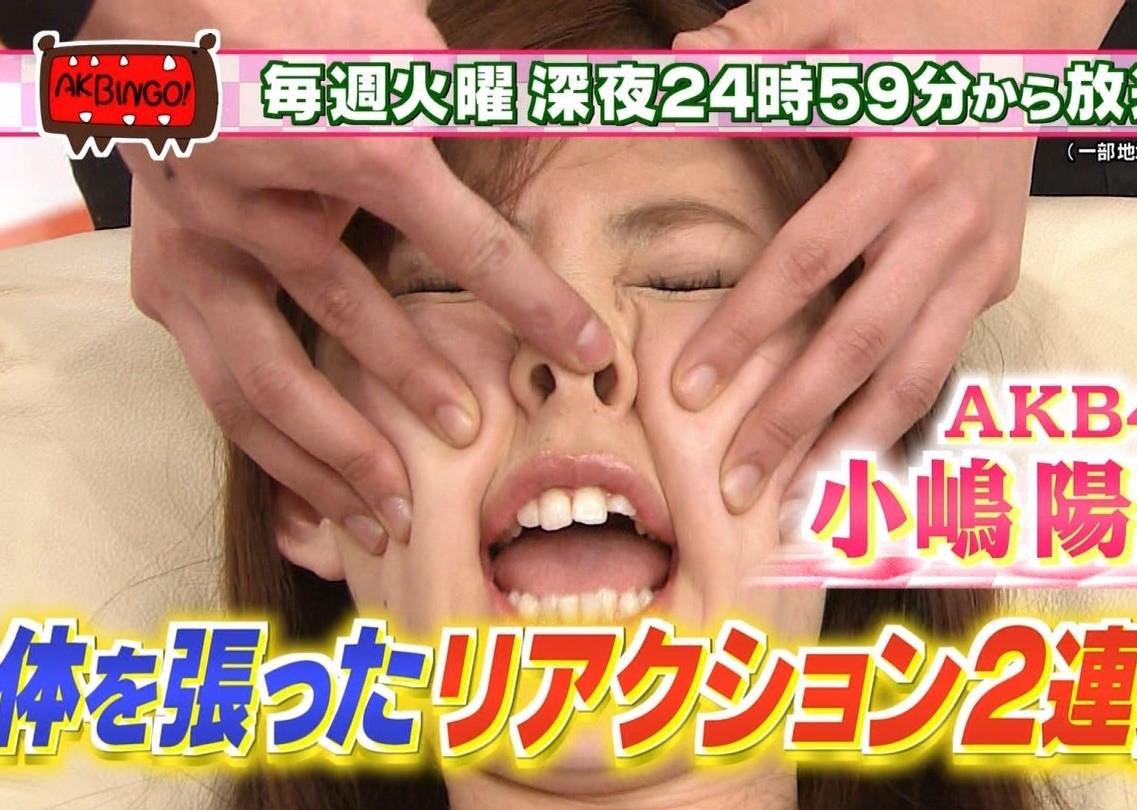 小嶋陽菜の開口舌見せ (6)