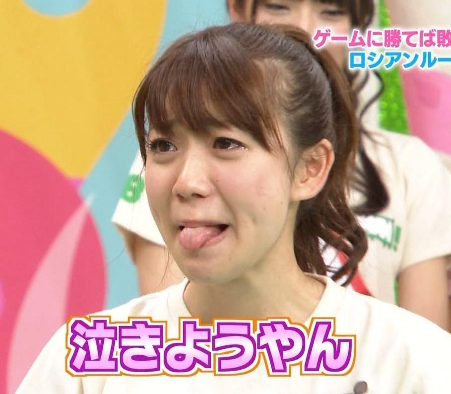 大島優子の舌出し (2)