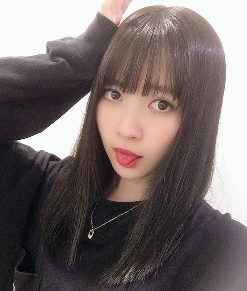 藤井優衣の舌出し (22)