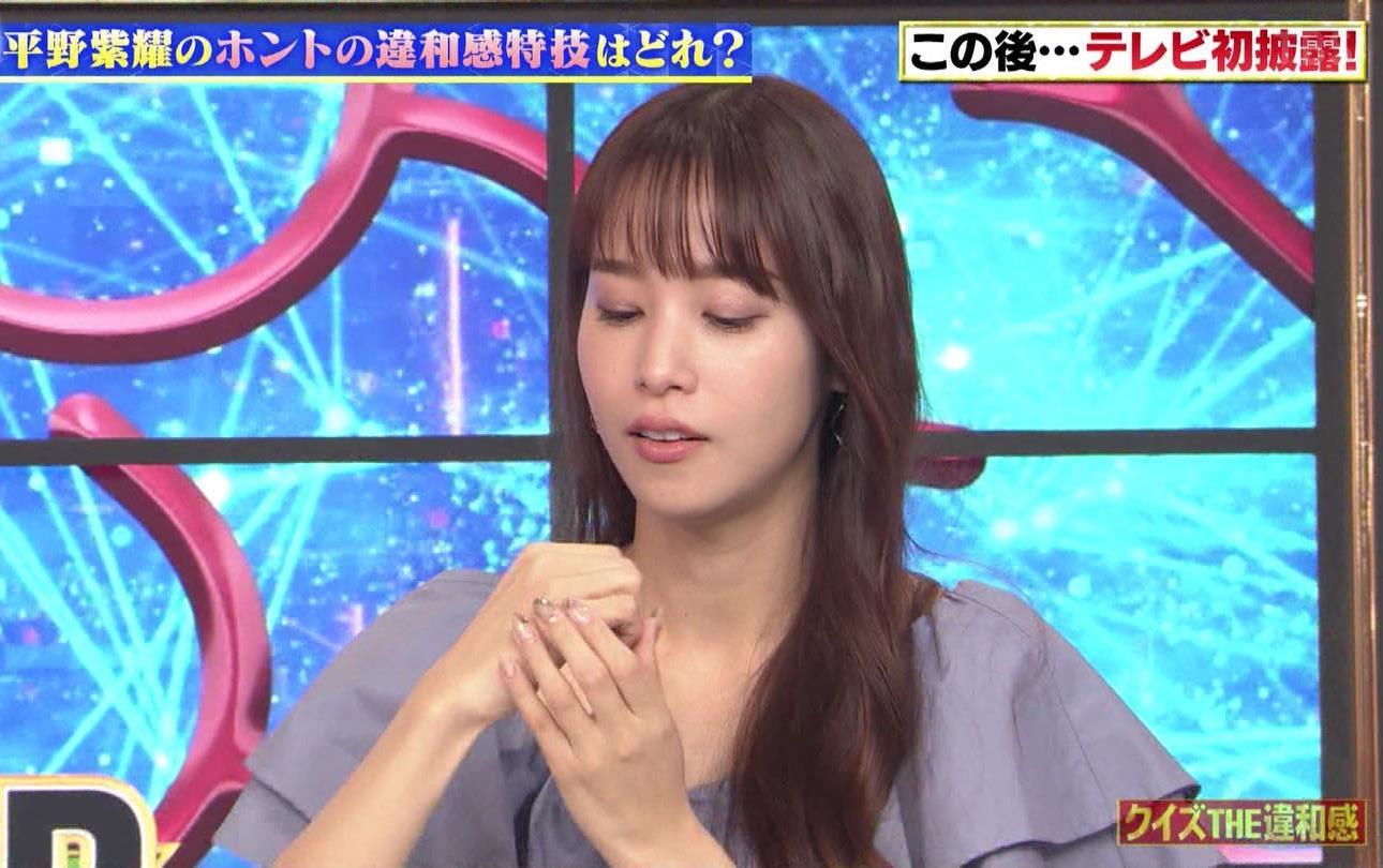鷲見玲奈のコブシ食い (1)