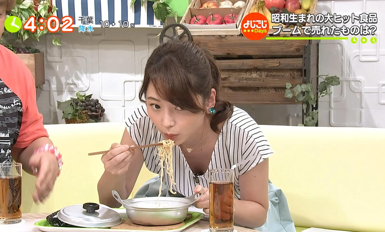 竹崎由佳の胸チラ疑似フェラ (3)