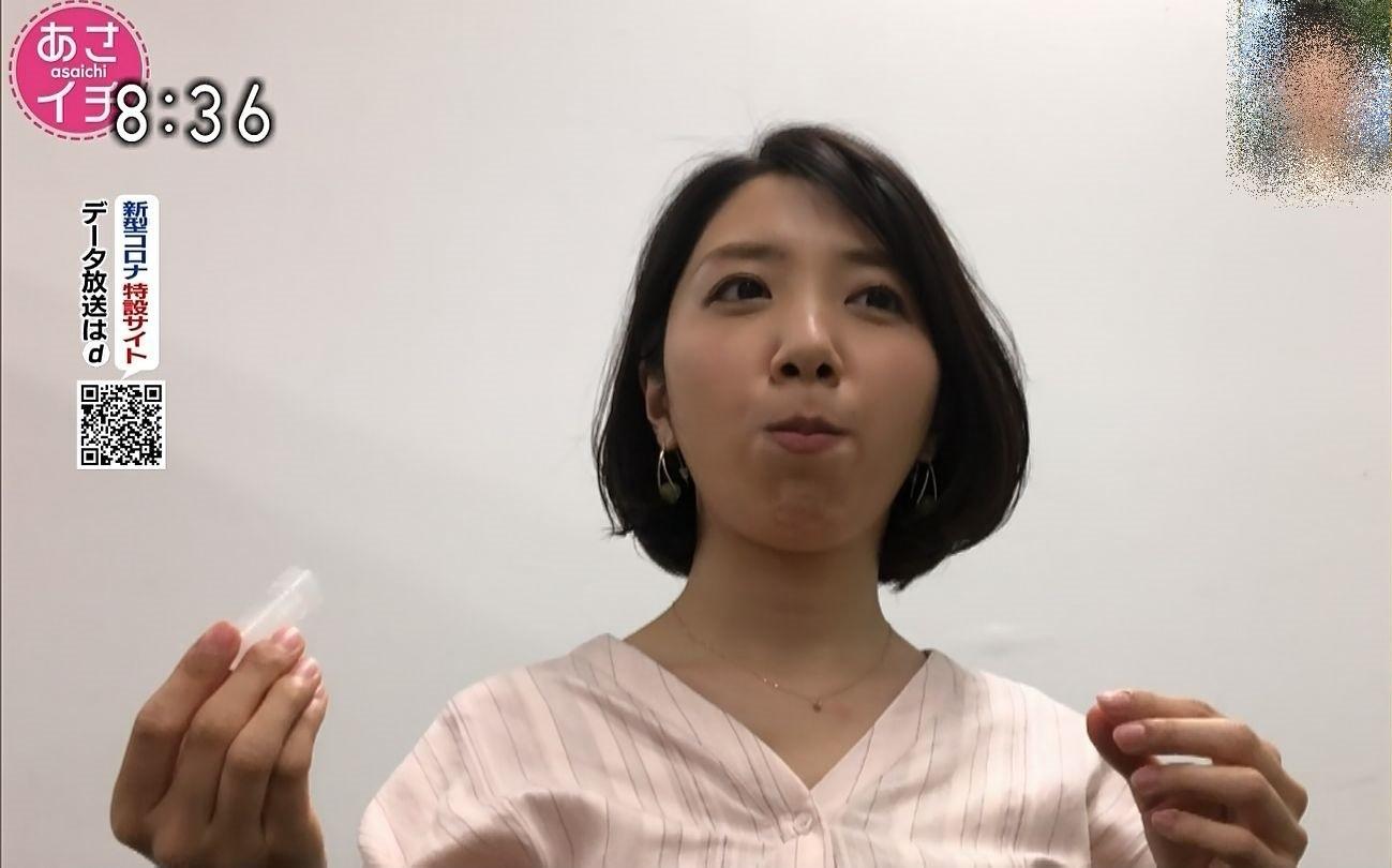 保里小百合の唾液採取 (3)