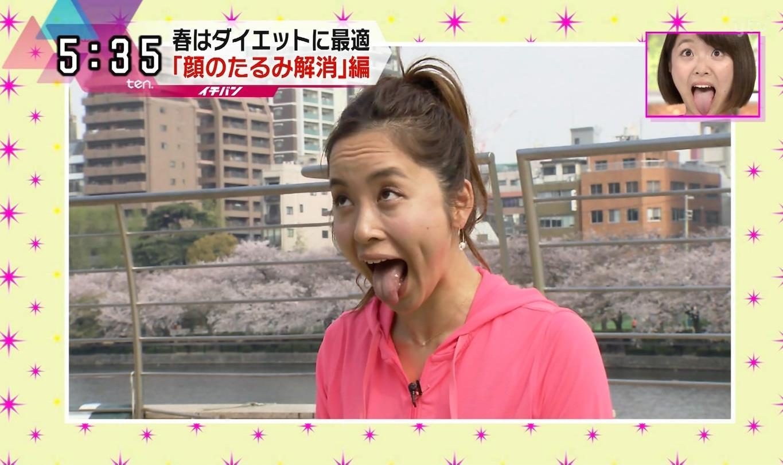 武田訓佳の舌出し (5)