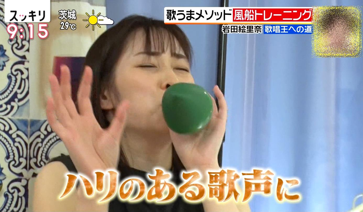 岩田絵里奈のぽってり舌 (4)