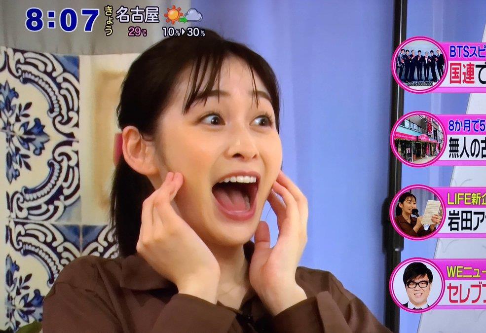 岩田絵里奈のぽってり舌 (2)